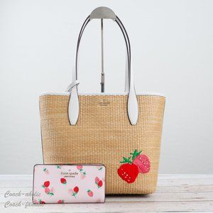 NWT Kate Spade Picnic In The Park Tote & Wallet